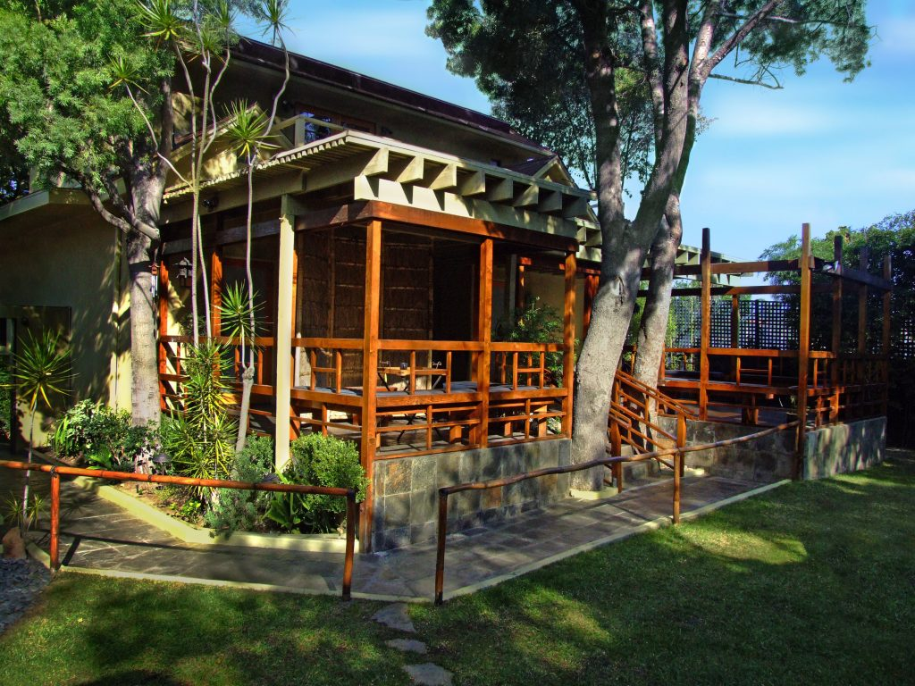 Outdoors of Montanya Spa