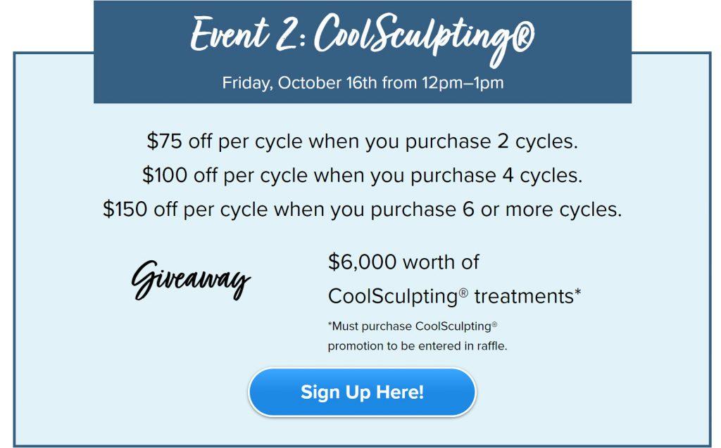 Event 2 Coolsculpting